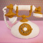 Knitted Telephone