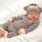 Baby Sock Monkey Costume!