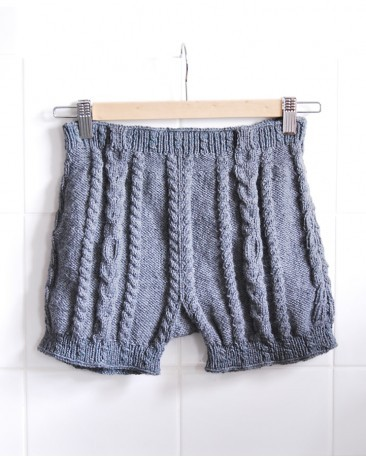 knitted shorts pattern Archives - Knitting is Awesome