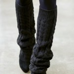 Knitted Leg Warmers on the Runway