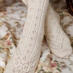 Beautiful Lace Knit Socks