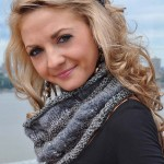 Learn to Knits Cables + Free Knitting Pattern for Fashionable Cowl Neck Scarf!