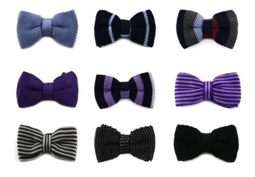 Knitted Bow Pattern : Knitted Bow Ties - Knitting is Awesome