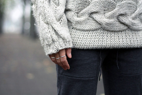Sideways Cable Knit Sweater Knitting Is Awesome