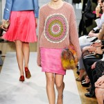 Knitwear Trends on the Runway Fall 2012: Moschino Cheap & Chic