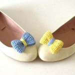 Accessorize Your Shoes with Knitted Bows!