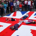 World's Largest Knitted Flag!