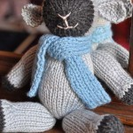 Fuzzy Little Lamb Free Knitting Pattern