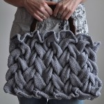 Fashionable Knit Purse