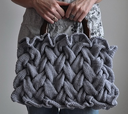 Fashionable Knit Purse Knitting Is Awesome