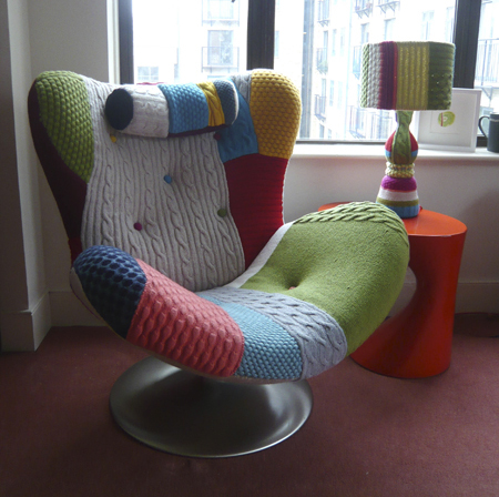 knitted chair archives knitting is awesome. Black Bedroom Furniture Sets. Home Design Ideas