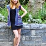 "New Girly Knits Pattern ""Ruffle Me Up"" Lace Caridgan"