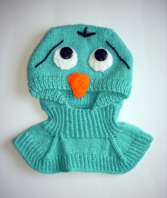Knitting Pattern Baby Owl Hat : Adorable Baby Animal Hats - Knitting is Awesome