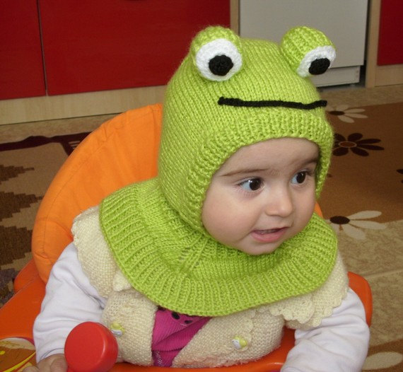 Free Knit Pattern Baby Frog Hat : owl hat Archives - Knitting is Awesome