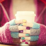 Colorful Fingerless Gloves