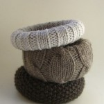 Knitted Bangles