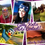 Knitting Photo Contest!  Lots of fun Prizes, enter by Sept. 30th!
