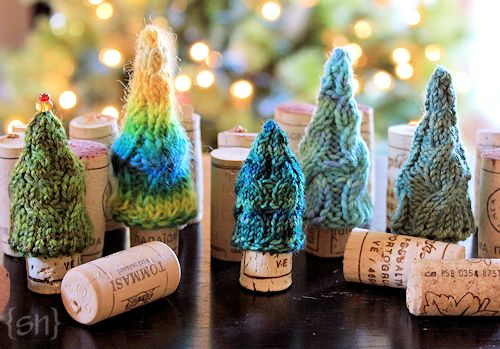 Mini Christmas Tree Free Knitting Pattern Knitting Is Awesome
