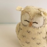 Cute Little Knitted Owl!
