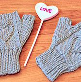 heart warmers mini mittens