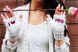 """Be My Valentine"" Knitting Pattern"