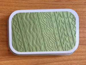 girly knits aztec knitters tool tin