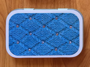 girly knits lattice knitters tool tin