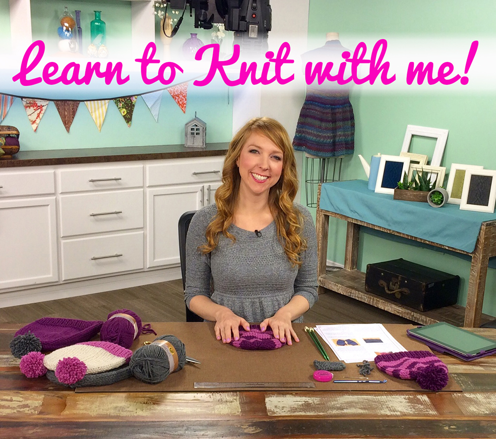 learn to knit with lauren