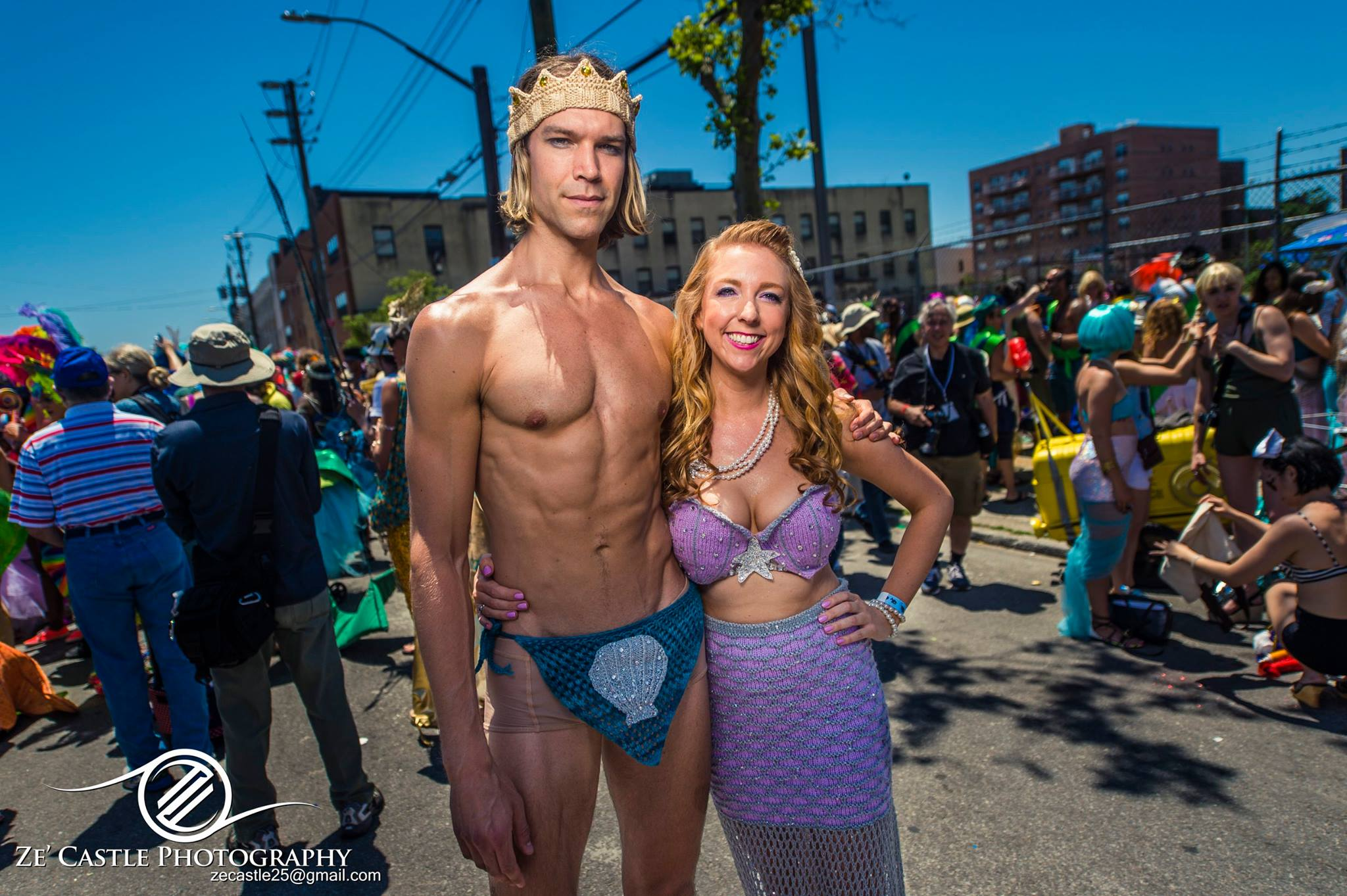 Mermaid costume fail