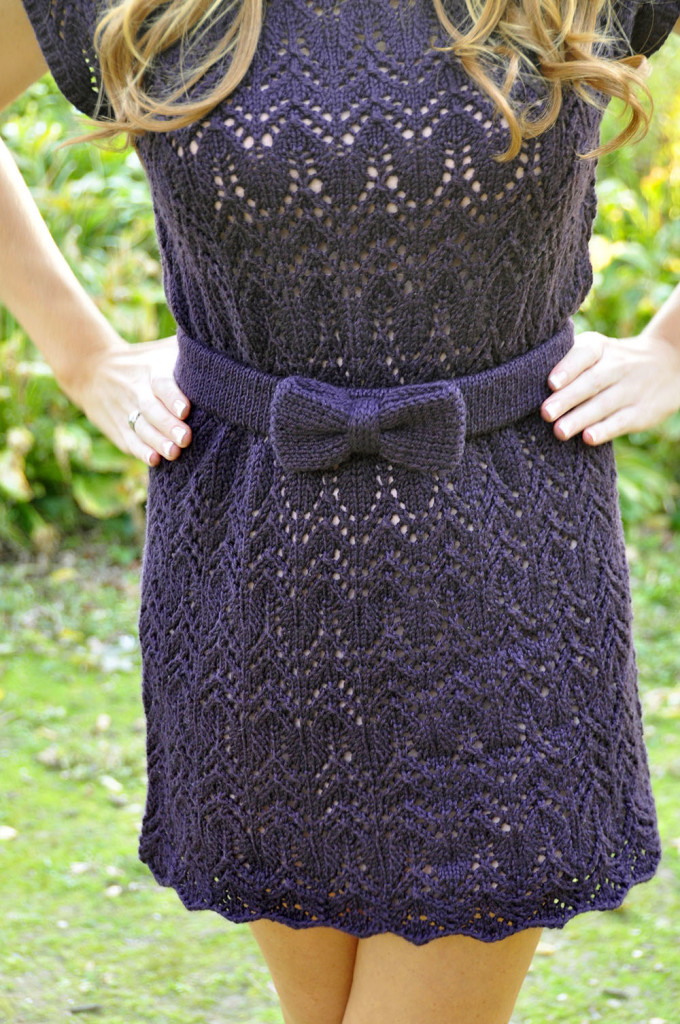 Knitting Patterns Lace Dress : Lace dress knitting pattern elephant   Womans wallet and dresses