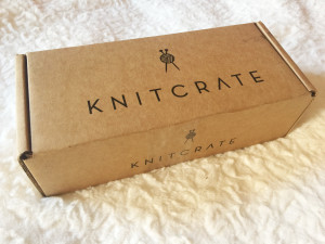 knitcrate sock box package february 2017