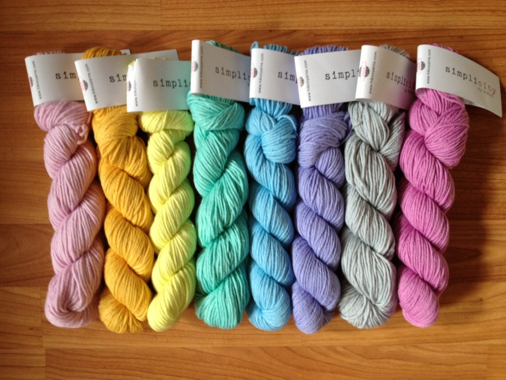 hikoo simplicity rainbow of yarn